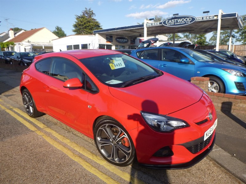 used Vauxhall Astra GTC LIMITED EDITION S/S in Essex