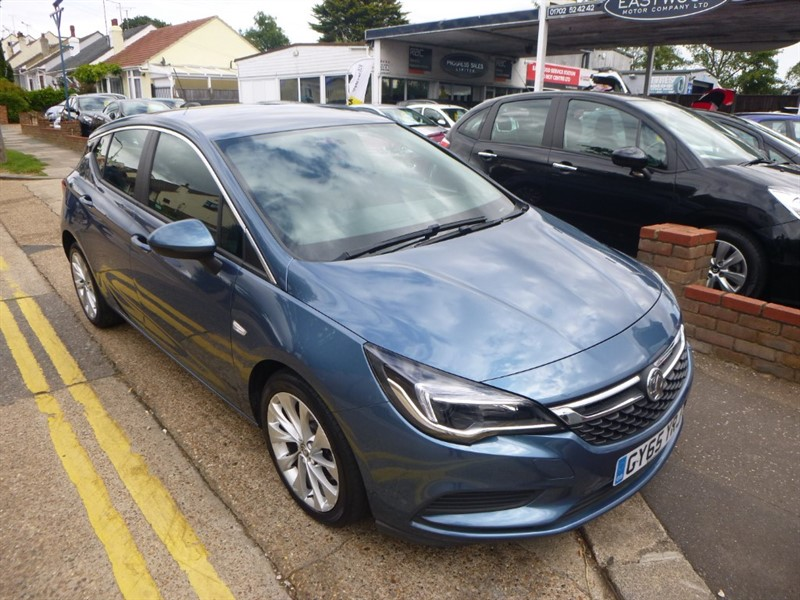 used Vauxhall Astra ENERGY CDTI in Essex