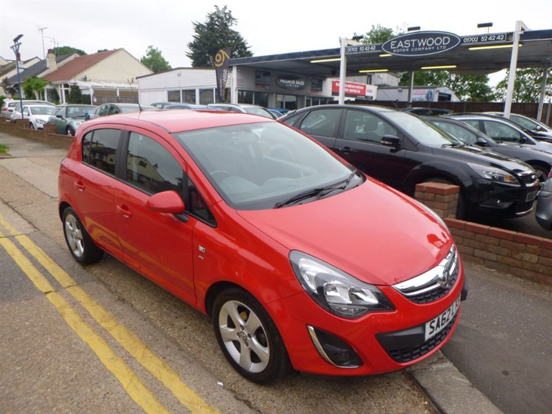 used Vauxhall Corsa SXI in Essex
