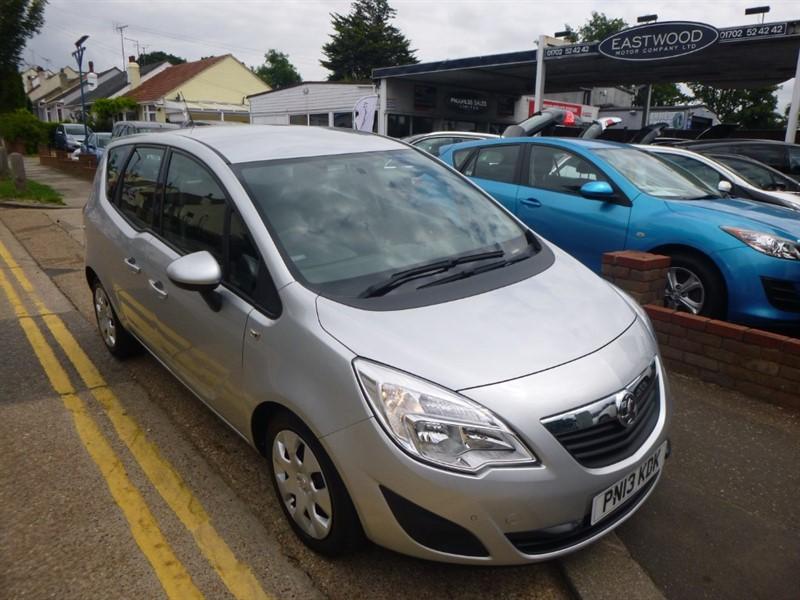 used Vauxhall Meriva EXCLUSIV CDTI ECOFLEX S/S in Essex