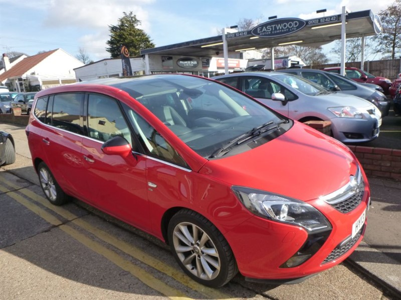used Vauxhall Zafira Tourer ELITE CDTI in Essex