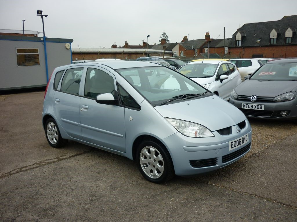 used Mitsubishi Colt 1.3 CZ2 5Dr Automatic in in-colchester-and-essex