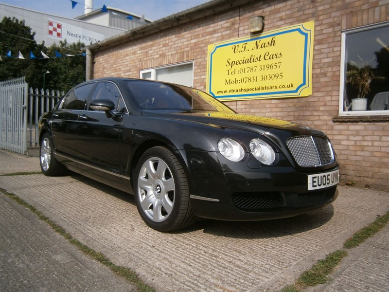 used Bentley Continental Flying Spur W12 4dr Auto in suffolk