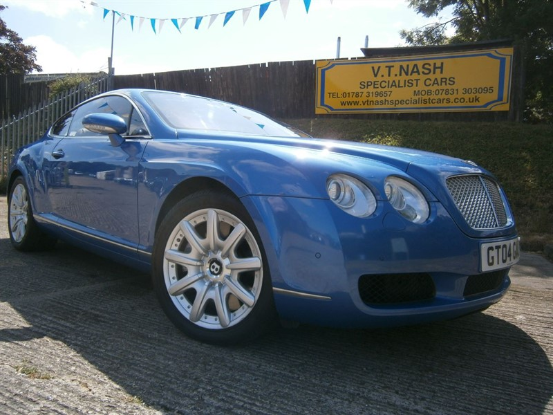 used Bentley Continental GT W12 2dr Auto in suffolk