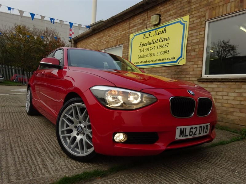 used BMW 116i SE in suffolk