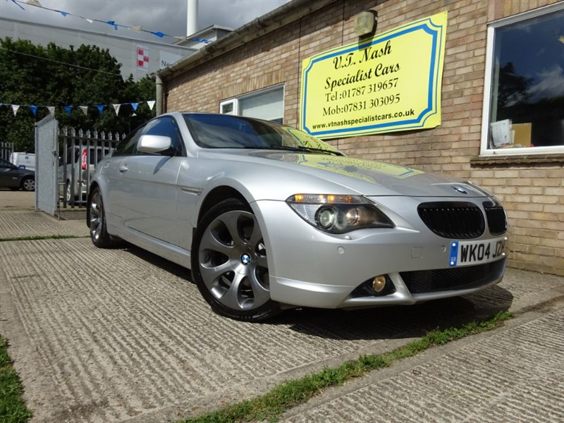 used BMW 645Ci  in suffolk