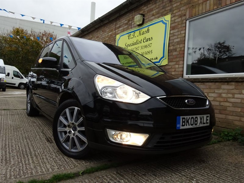 used Ford Galaxy GHIA TDCI in suffolk