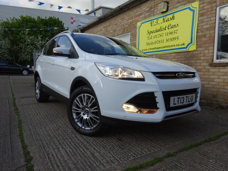 used Ford Kuga TITANIUM TDCI 2WD in suffolk