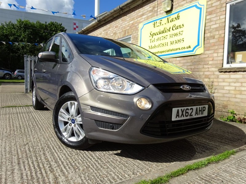 used Ford S-Max ZETEC TDCI in suffolk