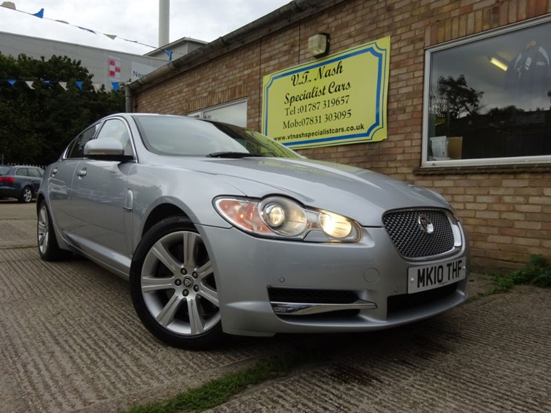 used Jaguar XF V6 LUXURY in suffolk