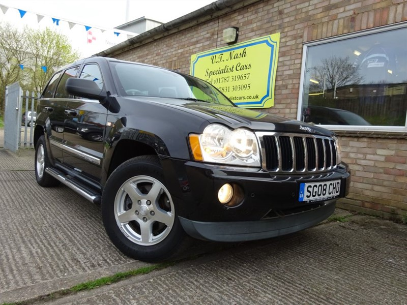 used Jeep Grand Cherokee V6 CRD LIMITED in suffolk