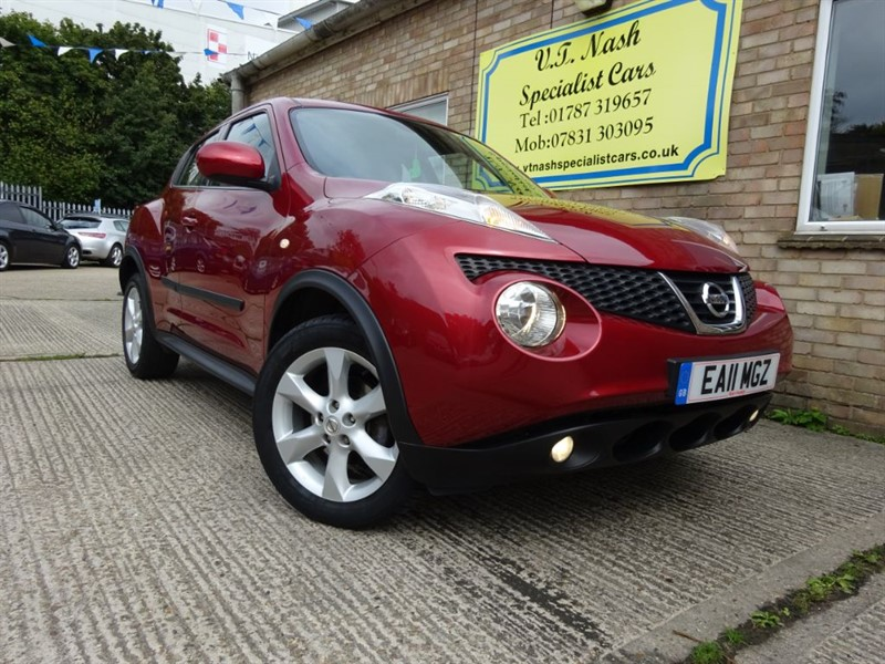 used Nissan Juke ACENTA in suffolk