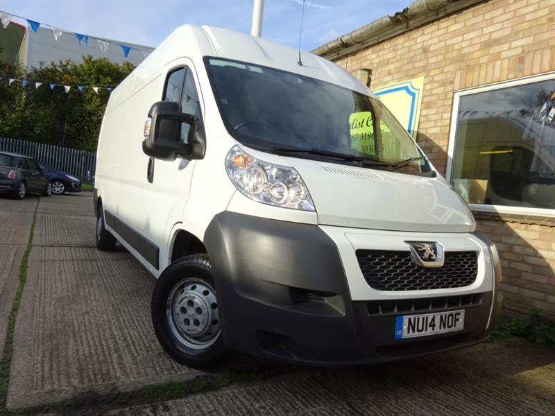 used Peugeot Boxer HDI 335 L3H2 in suffolk