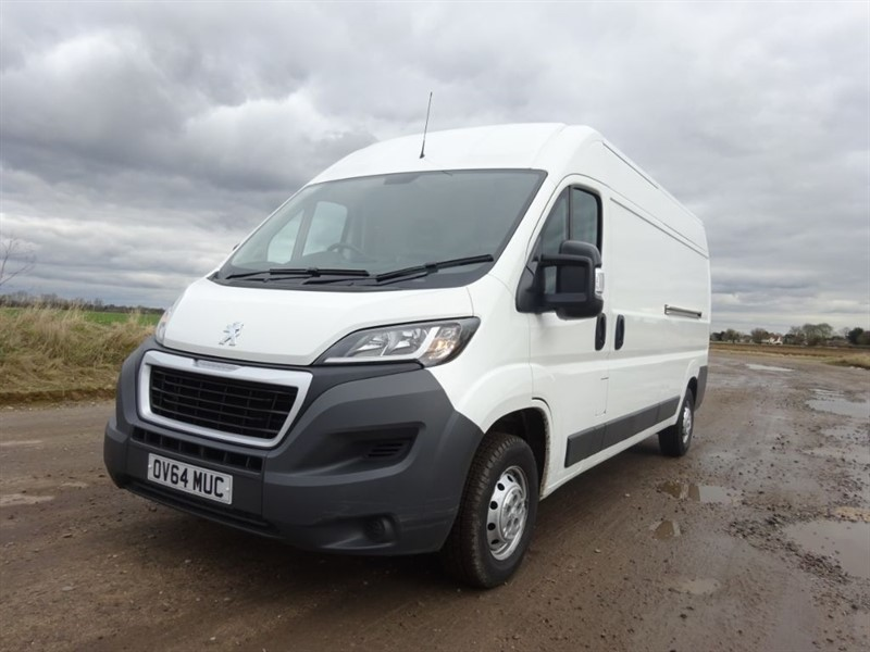 used Peugeot Boxer HDI 335 L3H2 PROFESSIONAL P/V in suffolk