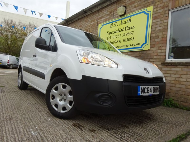 used Peugeot Partner HDI PROFESSIONAL L1 850 in suffolk