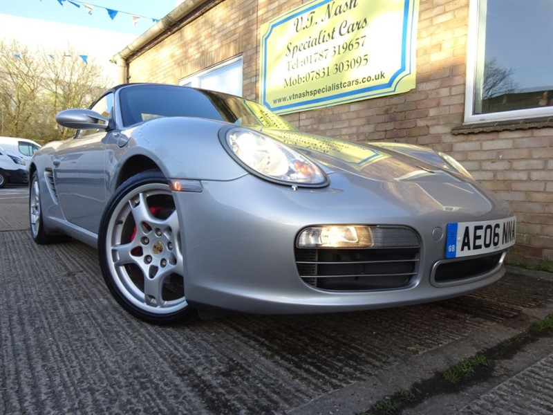 used Porsche Boxster 24V S in suffolk