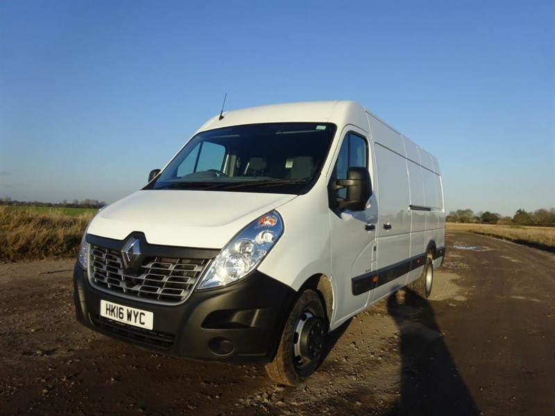 used Renault Master LML35 BUSINESS DCI S/R P/V DRW in suffolk