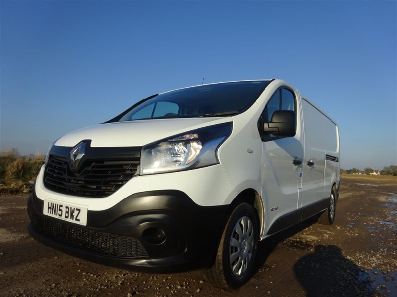 used Renault Trafic LL29 BUSINESS DCI S/R P/V in suffolk