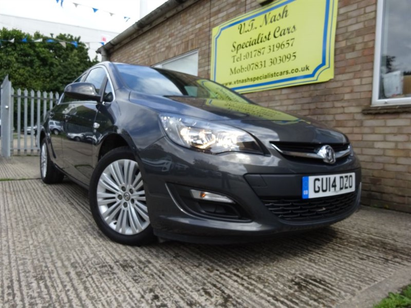 used Vauxhall Astra EXCITE in suffolk