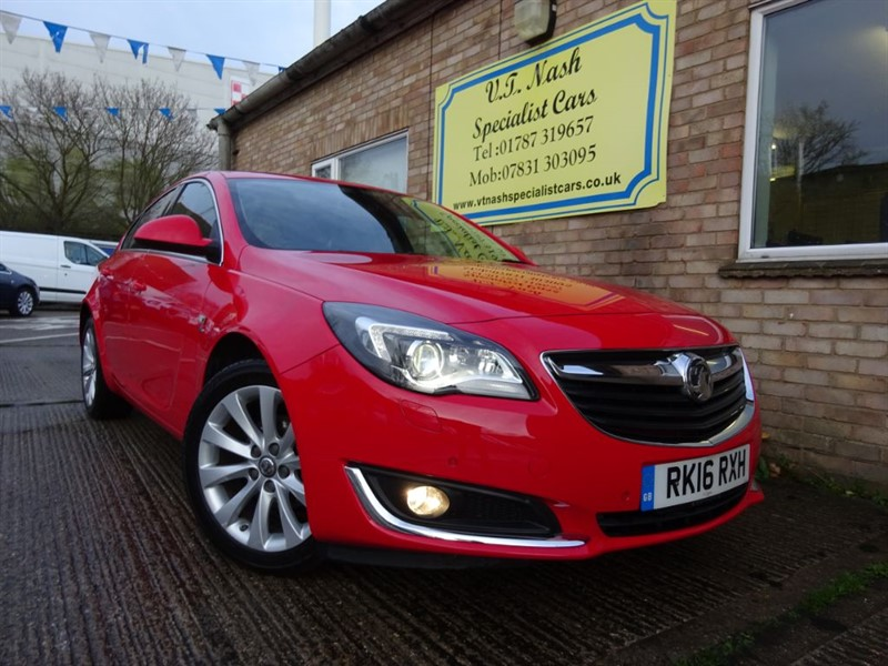 used Vauxhall Insignia Elite 16V in suffolk