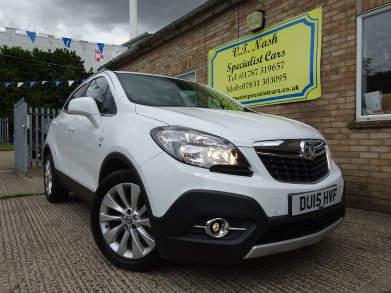 used Vauxhall Mokka SE S/S in suffolk
