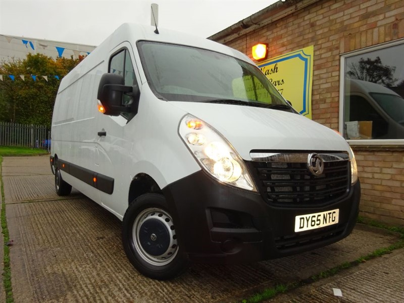 used Vauxhall Movano F3500 L3H2 P/V CDTI in suffolk