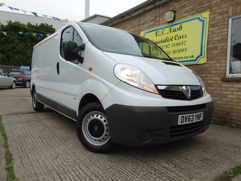 used Vauxhall Vivaro 2900 CDTI in suffolk