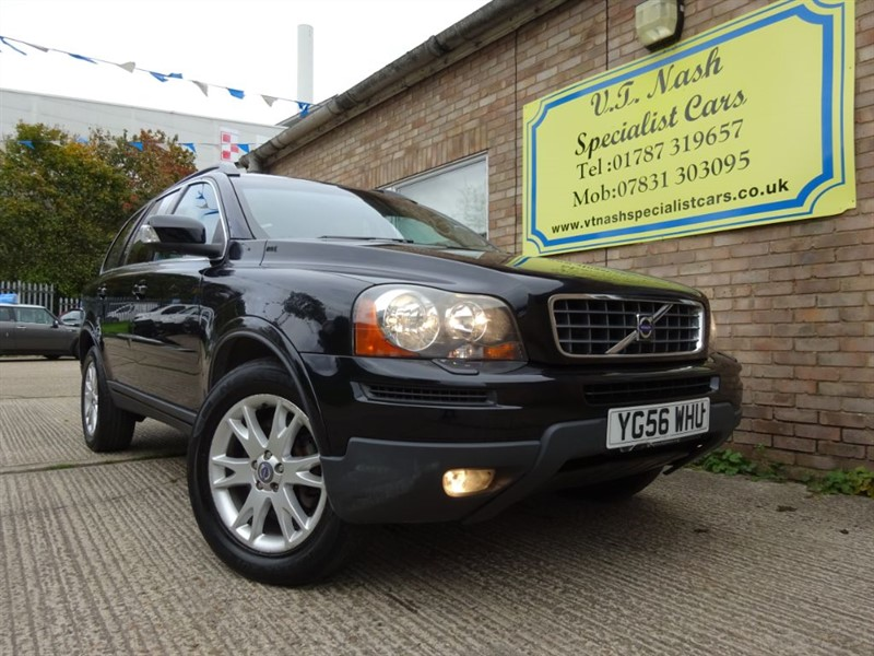 used Volvo XC90 D5 SE in suffolk