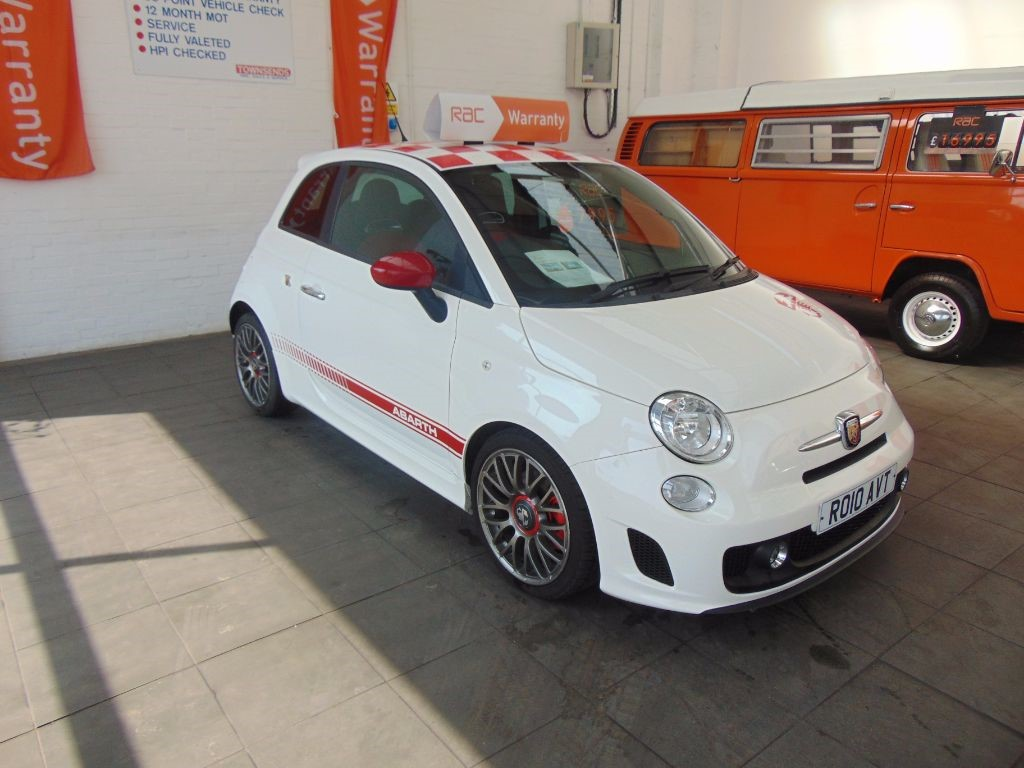 used white fiat 500 abarth for sale warwickshire. Black Bedroom Furniture Sets. Home Design Ideas