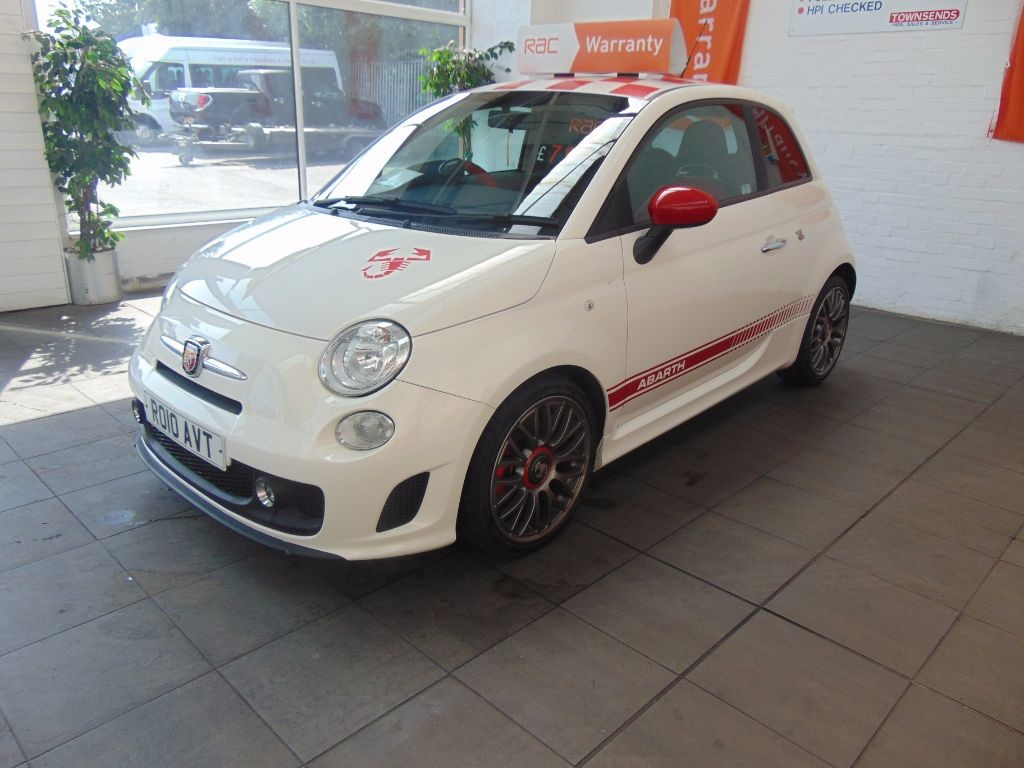 Used White Fiat 500 Abarth For Sale Warwickshire