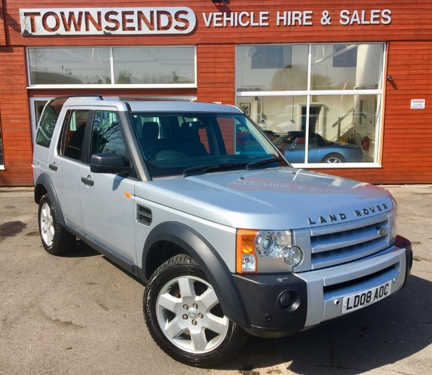 Used Silver Land Rover Discovery For Sale