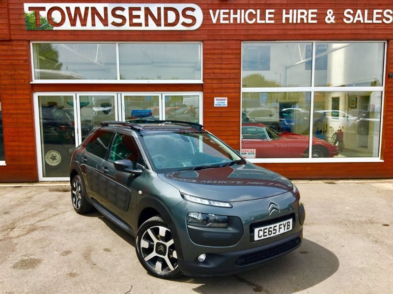used Citroen C4 Cactus Flair 1.6 BlueHDi 100 in rugby-warwickshire