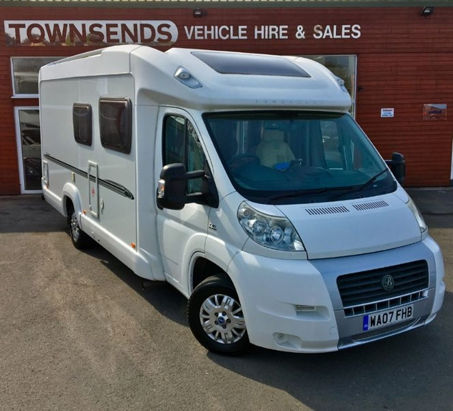 used Fiat Ducato Bessacarr E560 Motorhome in rugby-warwickshire
