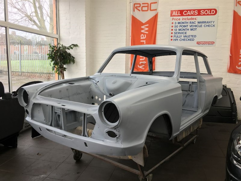 used Ford Cortina Mark 1 Body Shell 1963 in rugby-warwickshire