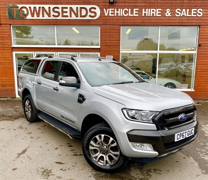 used Ford Ranger Wildtrack 3.2 TDCI 200 Manual in rugby-warwickshire