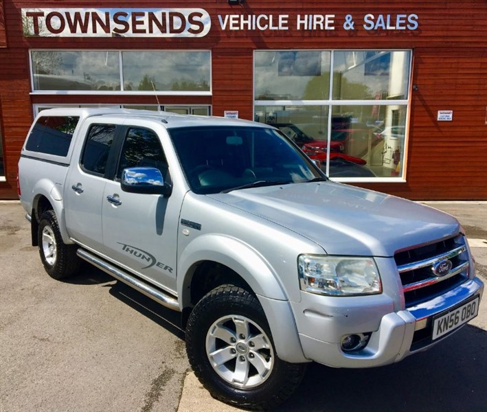 used Ford Ranger Thunder XLT 2.5 TDCi 4X4 in rugby-warwickshire