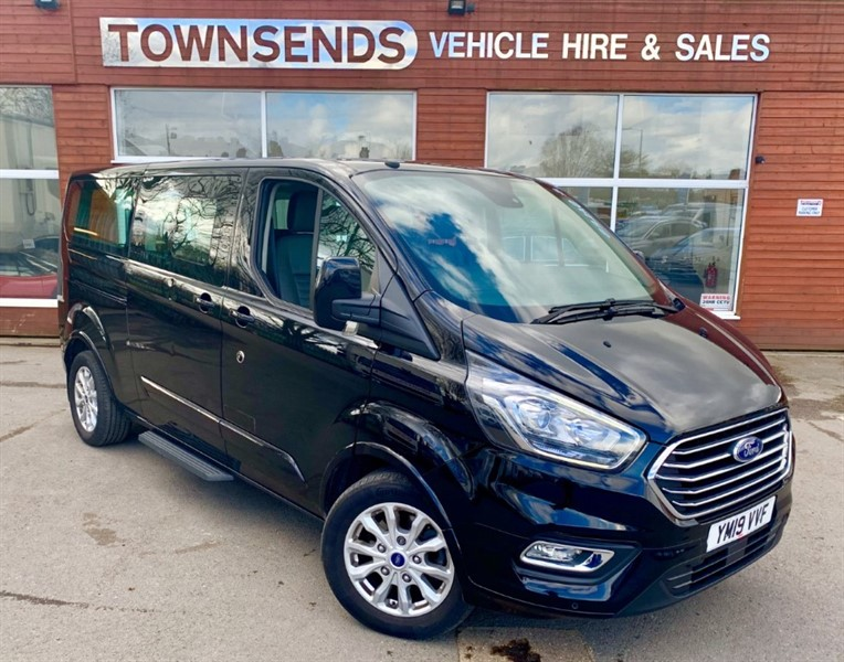 used Ford Tourneo Custom 2.0 EcoBlue 130PS Titanium 9 Seater Minibus 2019 in rugby-warwickshire