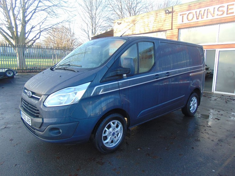 used Ford Transit Custom 290 LIMITED LR P/V in rugby-warwickshire