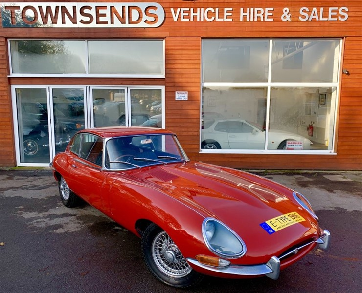 used Jaguar E-Type Series 1 4.2 Auto 1966 in rugby-warwickshire