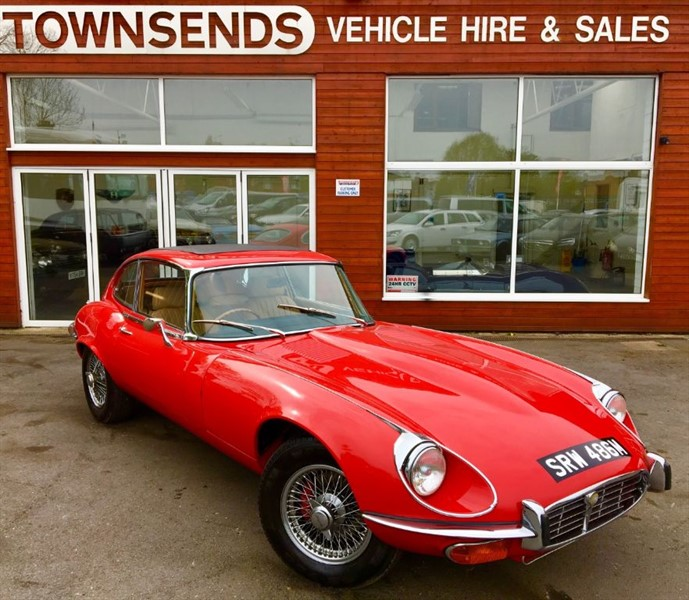 used Jaguar E-Type SIII 5.3 V12 Manual 1973 in rugby-warwickshire
