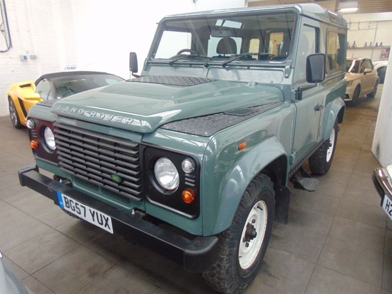 used Land Rover Defender 90 COUNTY STATION WAGON in rugby-warwickshire