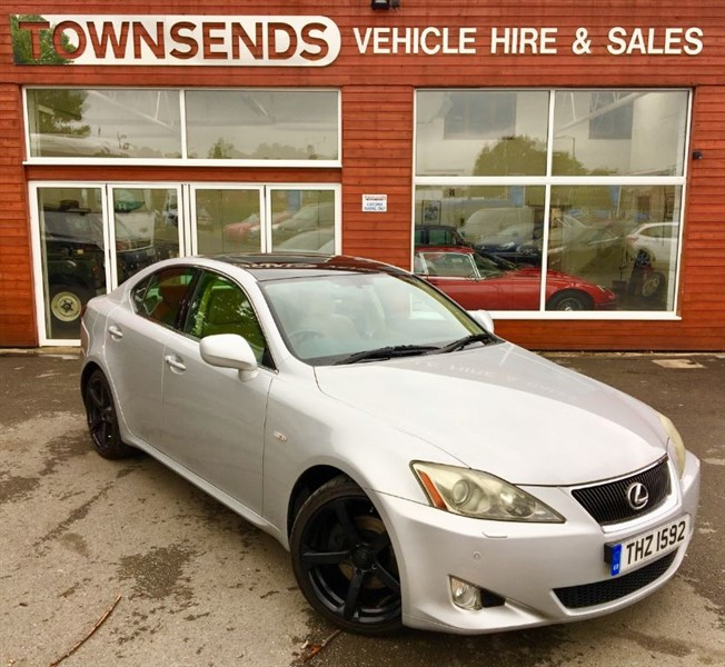 used Lexus IS 250 Sport 2.5 V6 in rugby-warwickshire