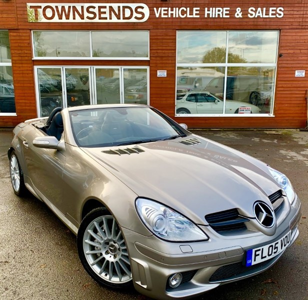 used Mercedes SLK55 AMG 5.4 V8 Auto in rugby-warwickshire