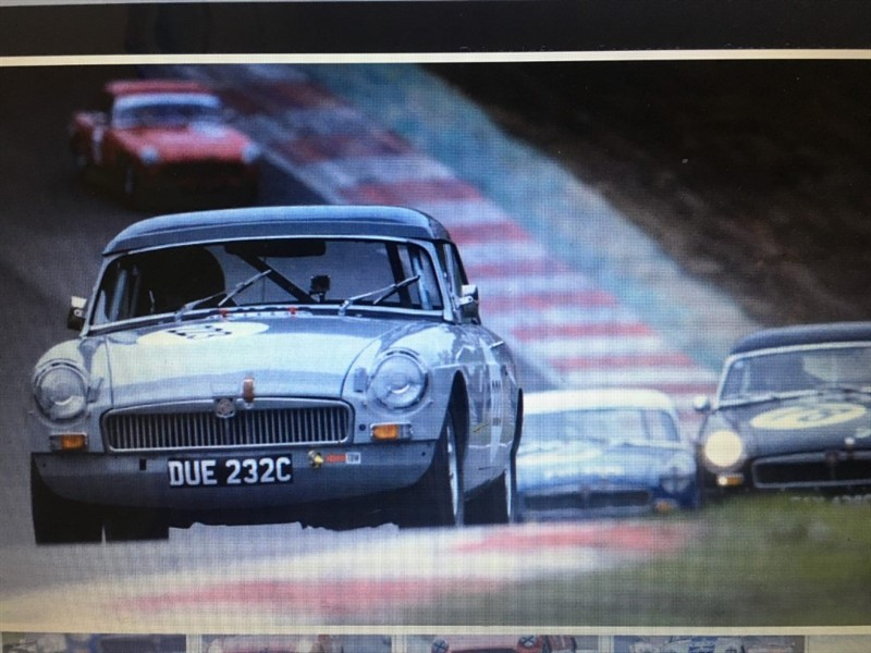used MG MGB Full FIA Spec Race Car in rugby-warwickshire
