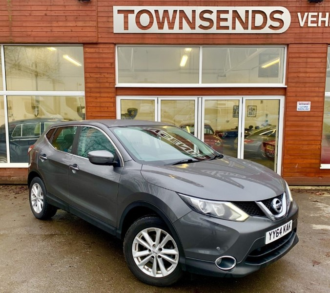 used Nissan Qashqai Acenta 1.5 DCI 110 in rugby-warwickshire