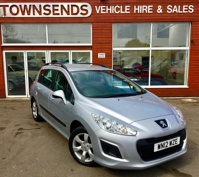 used Peugeot 308 1.6 HDI Estate in rugby-warwickshire