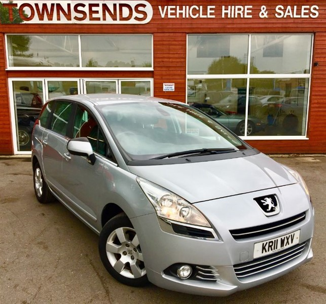 used Peugeot 5008 Sport 1.6 HDI EGC in rugby-warwickshire