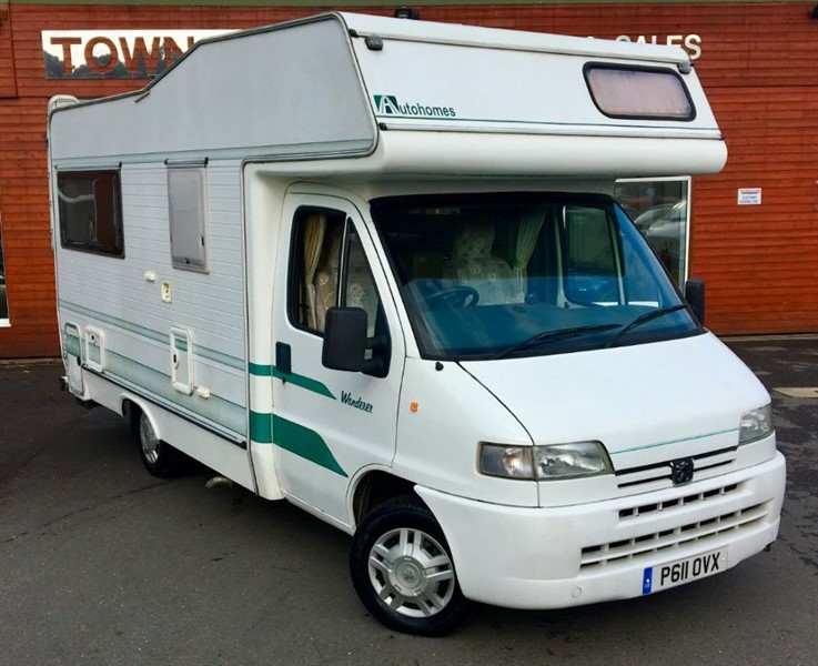 used Peugeot Boxer Autohomes Wanderer Motorhome in rugby-warwickshire