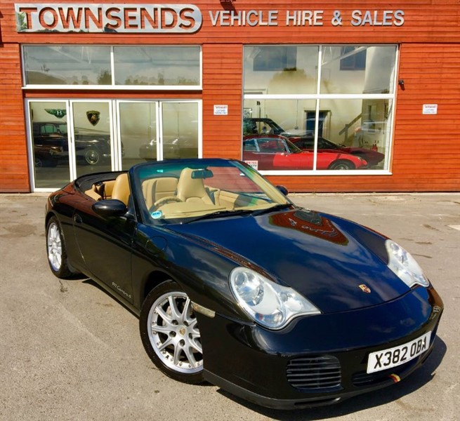 used Porsche 911 Carrera 4 3.4 Tipronic S in rugby-warwickshire