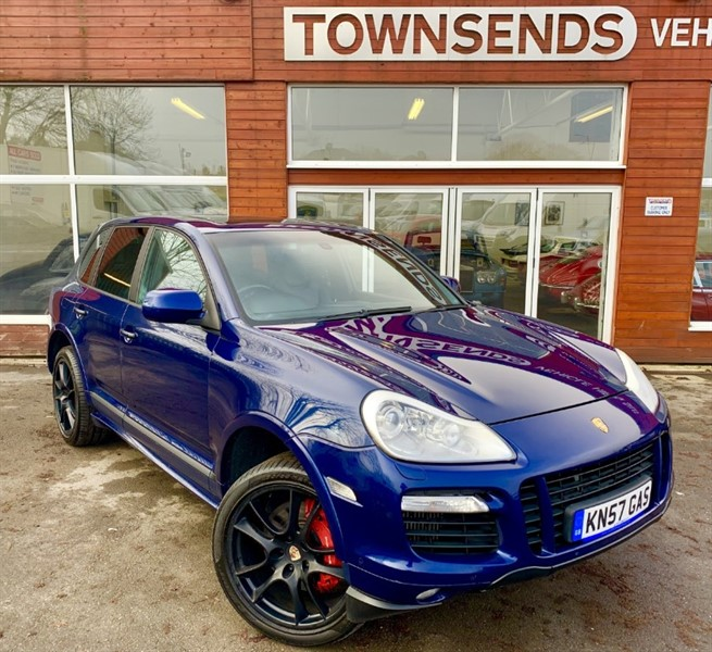 used Porsche Cayenne 4.8 V8 Turbo Tiptronic S in rugby-warwickshire
